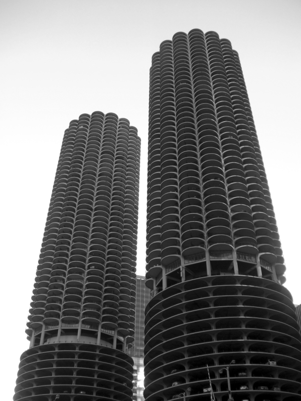 Marina City Complex Chicago by Bertrand Goldberg